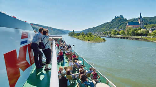 1-Day Rhine River Cruise Pass