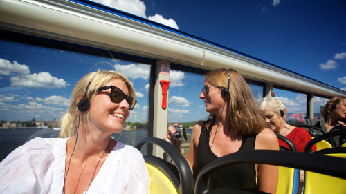 Hop-On Hop-Off Bus & Boat Tour