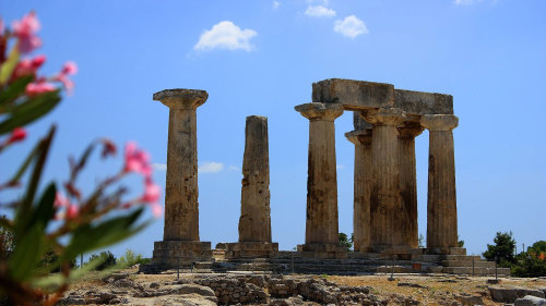 Private Shore Excursion: Ancient Corinth & Corinth Canal Cruise