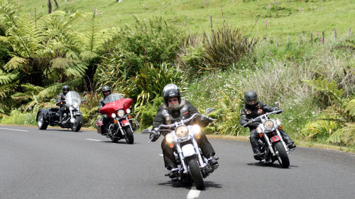 Harley Davidson Chauffeured Tour of the Coromandel Peninsula