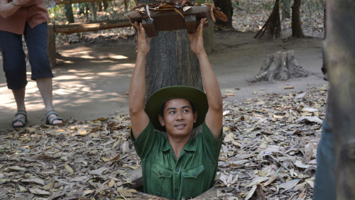 Cu Chi Tunnels Excursion by Threeland Travel
