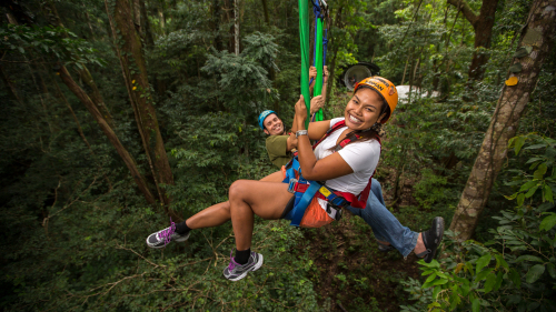 Jungle Surfing Combo Tour by Jungle Surfing Canopy Tours