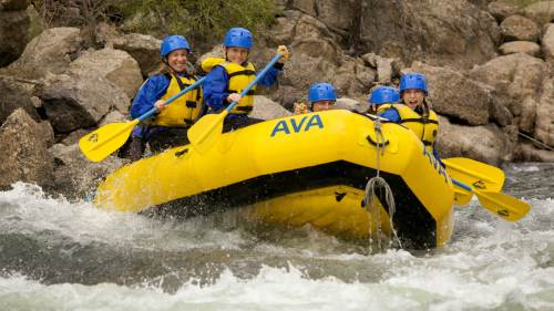 Whitewater Rafting Brown