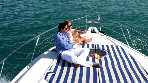 Palm Island Luxury Speedboat Cruise with Transfers