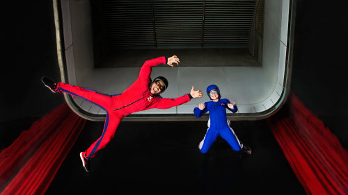 iFLY Skydiving Experience at Magic Planet Mirdif Center