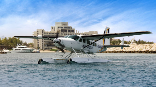Abu Dhabi to Dubai Full-Day Seaplane Adventure by Seawings