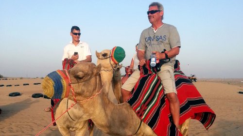 Desert Adventure Combo Tour: Quad Bike, Sandboarding & Camel Safari