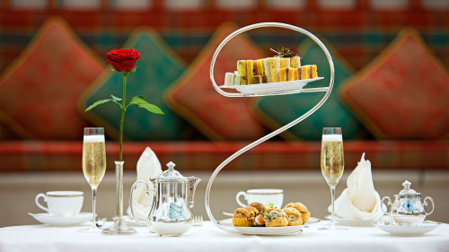 Afternoon Tea at Burj Al Arab - Skyview Bar
