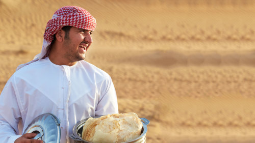 Luxury Mercedes G-Wagon Desert Safari & Bedouin Breakfast Experience