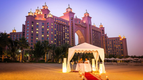 Royal Beach Dinner for 2 at Atlantis The Palm