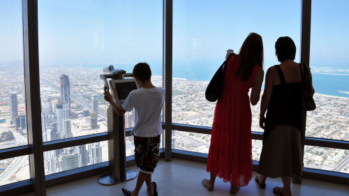 "Burj Khalifa ""At the Top"" Observation Deck & Afternoon Tea at Platos"