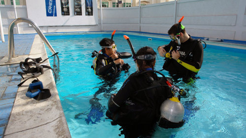 Discover Scuba Diving: Pool Experience