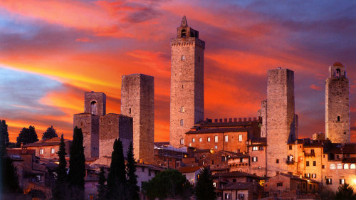 VIP Siena & San Gimignano Small-Group Tour with Chianti Dinner