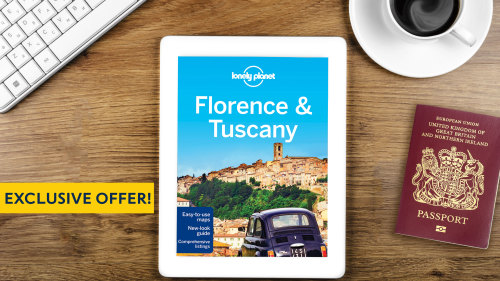 Get a Lonely Planet Florence & Tuscany eBook with all Florence 'Things to Do'