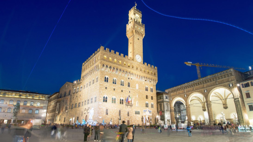 Palazzo Vecchio Tour with Views at Sunset by Caf Tour & Travel