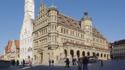 Rothenburg & Harburg Castle Full-Day Guided Tour
