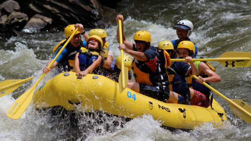 Upper Pigeon River Whitewater Rafting Trip