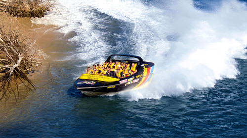 Jet Boat Ride by Paradise Jet Boating