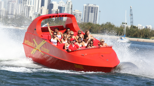 Jet Boat Ride with Drop-Off at Sea World by Jet Boat Extreme