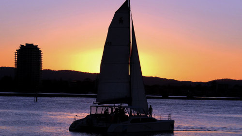 Sunset Sailing Cruise by SeaWorld Watersports
