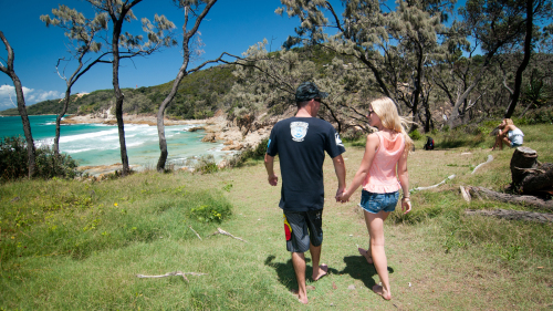 Full-Day Moreton Island 4x4 Sightseeing Tour by Sunrover Expeditions