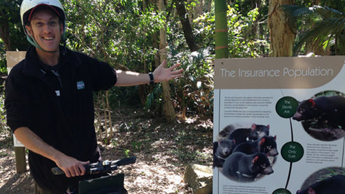 Currumbin Wildlife Sanctuary Segway Tour & Admission