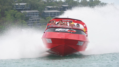 Hamilton Island Go-Kart & Jet Boat Adventure Full-Day Cruise