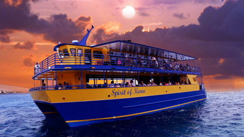 Sunset Dinner & Manta Ray Watch by Blue Sea Cruises