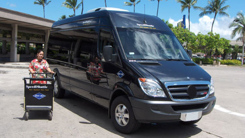 Shared Mercedes Shuttle : Kona International Airport (KOA)