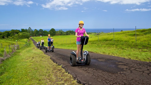 Exotic Botanical Garden Segway Tour