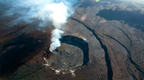 Full-Day Tour of Hawaii Volcanoes National Park by Air & Land
