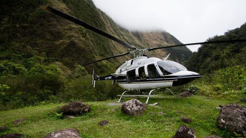 Volcano Helicopter Tour from Honolulu with Exclusive Valley Landing