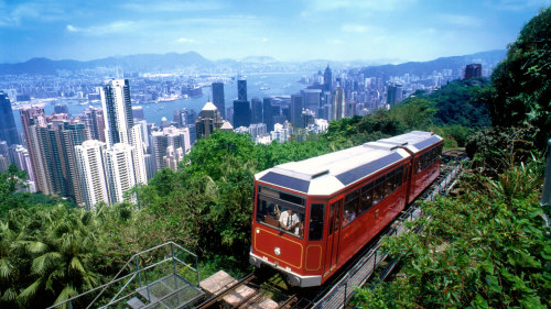 City Sightseeing Tour with Victoria Peak Tram Ride