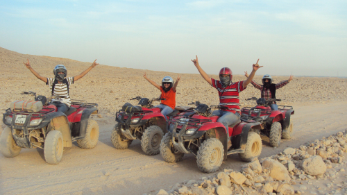 Desert Safari Tour via Quad Bike