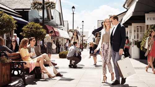 Chic Outlet Shopping® Experience at Kildare Village