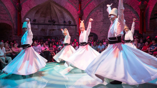 Whirling Dervishes or Turkish Dance at Hodjapasha Center
