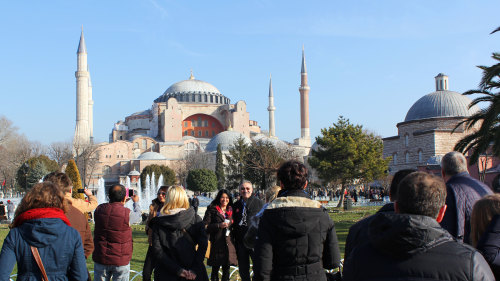 Skip-the-Line Hagia Sophia & Grand Bazaar Small-Group Tour