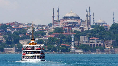 Small-Group City Walking Tour with Bosphorus Cruise