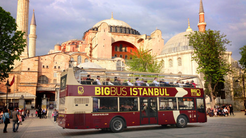 Hop-On Hop-Off Bus Tour by Big Bus