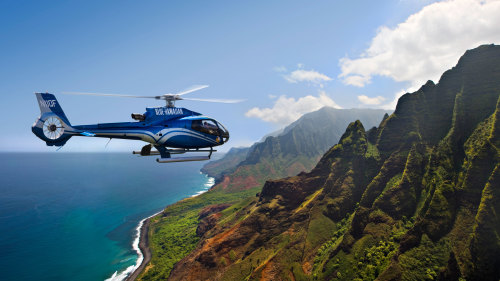 Blue Hawaiian Helicopters: Deluxe Kauai Helicopter Ride