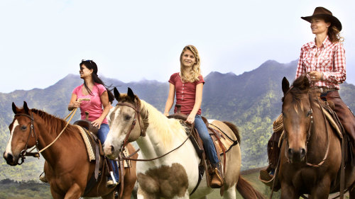 Paniolo Horseback Ride at Princeville Ranch