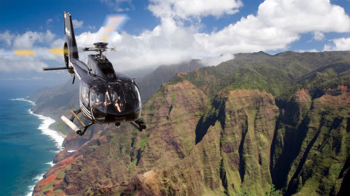 Island Circle Helicopter Ride from Princeville