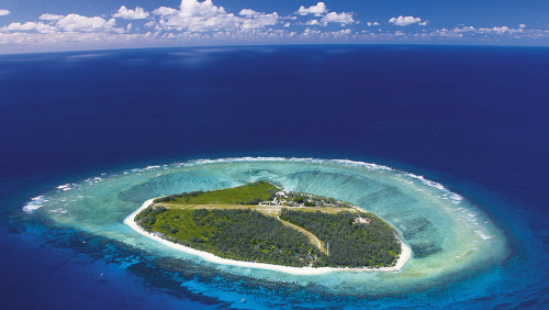 Lady Elliot Helicopter Flight & Snorkeling Tour by Australian Day Tours