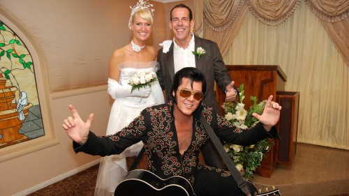 Elvis Wedding at Graceland Chapel
