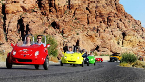 Red Rock 3-Wheel Scootercar Tour