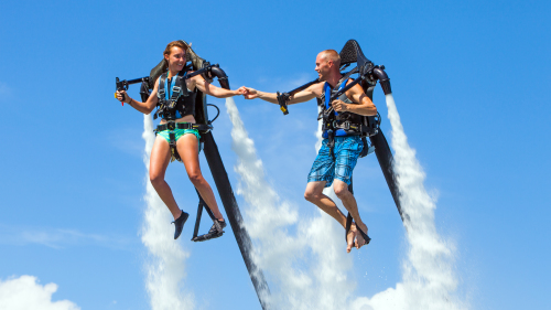 Rock Star Flight Experience by Jetpack America