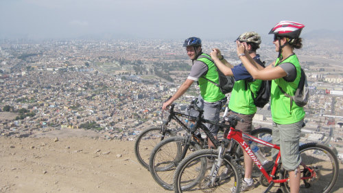 Small-Group Lima Coast Biking Tour by Urban Adventures