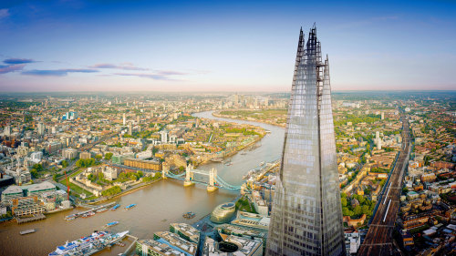 The View from The Shard & Vintage Double-Decker Bus Tour