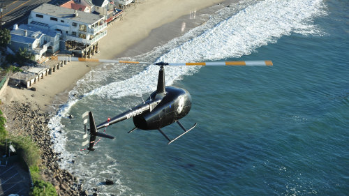 Malibu Coastline Helicopter Tour by Orbic Air