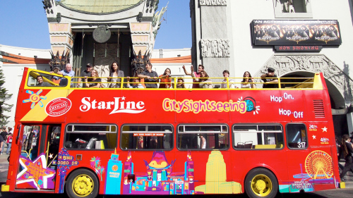 Hop-On-Hop-Off Bus Tour by City Sightseeing
